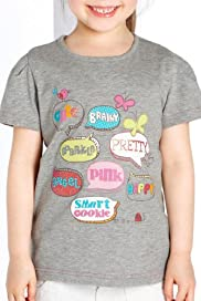Cotton Rich Assorted Slogan T-Shirt [T77-4192Y-Z]