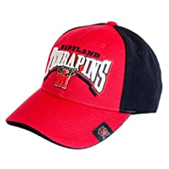 NCAA Officially Licensed Full Force Two Tone Embroidered Adjustable Hat Cap Lid by Top of the World