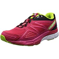 Salomon X-Scream 3D Women's Running Shoe (Pink/Black/Green)