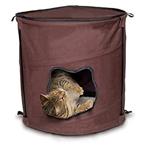 Ware Manufacturing Canvas 1-Level Kitty Pop Up Condo Hideout