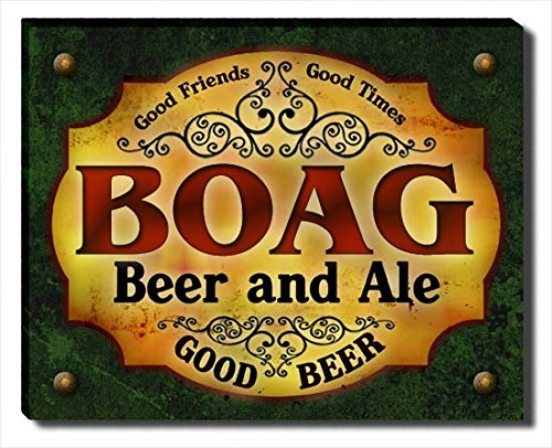 boag-beer-ale-stretched-canvas-print