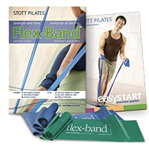 Stott Pilates Flex-Band (2-Pack) from Stott Pilates