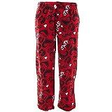 Fun Boxers Mens Valentines Day Red Kisses Pajama Pants