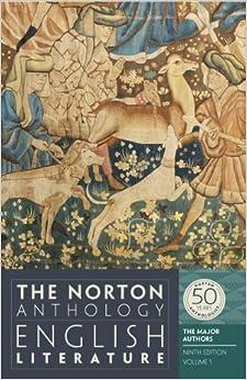 NORTON ANTHOLOGY LITERATURE ENGLISH
