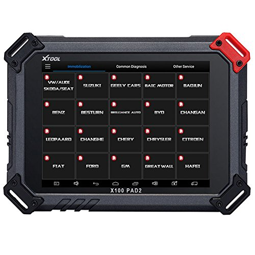 Xtool X100 Pad2 New Version X100 Pad 2 Key Programming as X300 Pro 3 Four Systems Diagnosis Car Tool Electric Parking Brake Basic Version (Car Basic Tools compare prices)