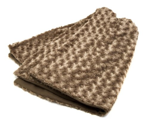 Imax Omari Brown Throw Blanket