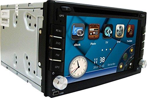 NEW 6.2'' Car DVD GPS Navigation 2DIN Car Stereo Radio Car G