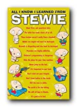 Family Guy Stewie All I Know 24X36 Wall Poster 24301