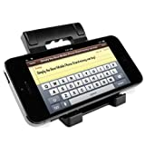 GPG2 Mobile Phone Stand - 折りたたみ スマートフォン スタンド - ブラック