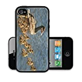 Luxlady Premium Apple iPhone 4 iPhone 4S Aluminum Backplate Bumper Snap Case Hanging Out Image 24481759235