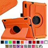 Fintie Kindle Fire HDX 7 360 Rotating Case Cover with Auto Wake / Sleep Feature (will only fit Amazon Kindle Fire HDX 7 2013 Model), Orange