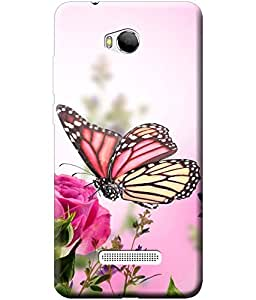 Fashionury™ Soft Silicon Lightweight (Printed) Back Cover Case for Micromax Canvas Spark 3 Q385 / Micromax Canvas Spark 3 Q385