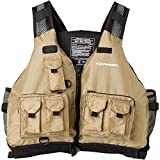 Extrasport Striper Kayak Fishing Type III PFD (Sand, Small/Medium)