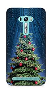 Amez designer printed 3d premium high quality back case cover for Asus Zenfone Selfie (Christmas Tree 2)