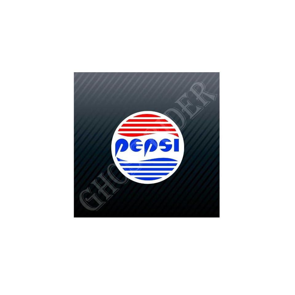 Pepsi Cola Drink Vintage Car Trucks Sticker Decal