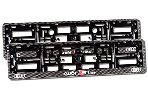 2x-audi-s-line-carbon-effect-number-plate-holder-car-registration-surround