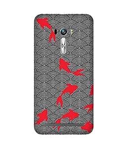 Pink Fish Asus Zenfone Selfie Case