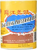 Yang Jiang Preserved Black Beans With Ginger, 1lb.