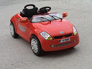 ford street ka style kids ride on electric battery powered. Black Bedroom Furniture Sets. Home Design Ideas