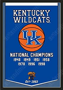 Dynasty Banner Of Kentucky Wildcats-Framed Awesome & Beautiful-Must For A... by Art and More, Davenport, IA