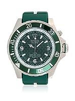 KYBOE! Reloj automático Unisex Verde 55 mm