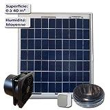 Solar-Belüftung, 5 W, 12 V, für kontrollierte Wohnraumlüftung 100m3-Abzieher/h