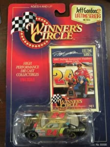 1997 Jeff Gordon #24 Dupont Chroma Premier Automotive Finishes 1/64 Scale Winners Circle Lifetime Series Edition #2 of 6 With Gordon Photo Insert