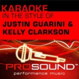 Timeless (Karaoke With Background Vocals)[In the style of Justin Guarini and Kelly Clarkson]
