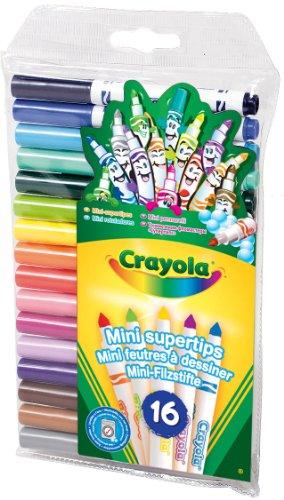 Imagen principal de Crayola 93102 - 16 Mini Rotuladores