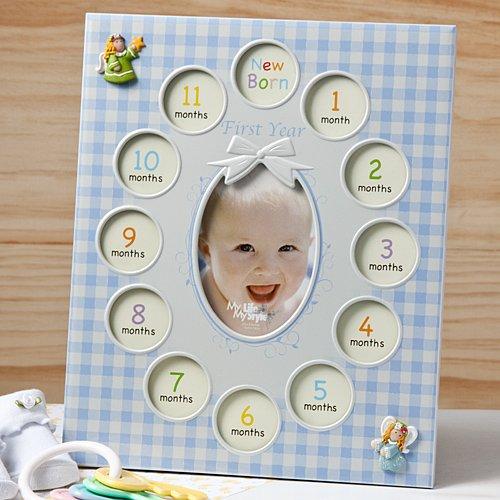 Fashioncraft Baby Boy First Year Collage Frames
