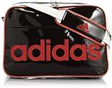 [アディダス] adidas エナメルバッグ L MIH70 Z96043 (ブラック)