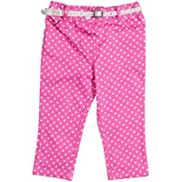 Nauti Nati Baby Girl's Trousers (NAW14-025_Pink_size-0-6M)
