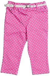 Nauti Nati Baby Girls Trousers (NAW14-025_Pink_size-0-6M)