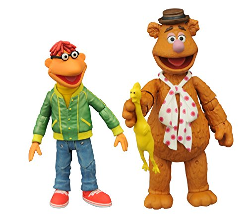 Diamond Select Toys - Muppets: Select Series 1 Fozzie and Scooter Set - Multi SEP158428