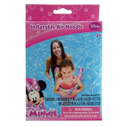 WeGlow International Minnie Mouse Inflatable Pool Noodle (Pack of 2) - 1