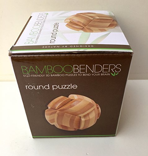 Bamboo Benders Eco-Friendly 3D BambooRound Puzzle - 1