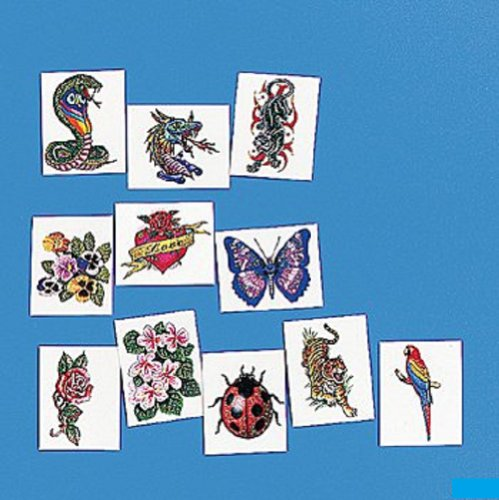 Glitter Temporary Tattoo Assortment (6 dz)