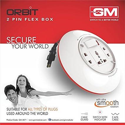 Goldmedal-3071-ORBIT-2-PIN-3-Strip-Flex-Box-(5-mtr)