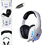 FOME Sades SA-922 7.1 Surround Stereo Sound Effect USB Gaming Headset Headphone With Mic For Laptop PC PS3 PS4...