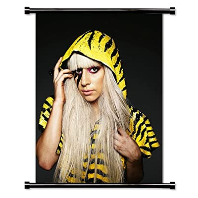 Lady Gaga Artist Fabric Wall Scroll Poster (32x42) Inches