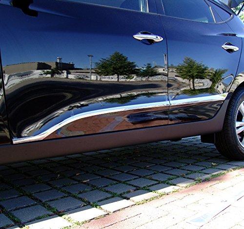 Zubehör für Hyundai ix35 Chrom Türleisten Blenden Molding Tuning Side Skirt Accent