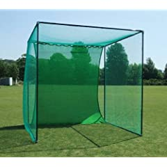 GOLF CAGE - Includes Galvanised Frame & Net (Professional Golf Club Spec) by Net World