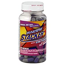 Stacker 3 Metabolizing Fat Burner with Chitosan, Capsules, 100 capsules