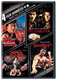 Cover art for  Martial Arts Collection: 4 Film Favorites (Rumble in the Bronx / The Corruptor / Showdown in Little Tokyo / Bloodsport)