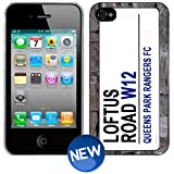 QPR Queens Park Rangers Loftus Road Sign Football iPhone 4 4s Phone Cover Case