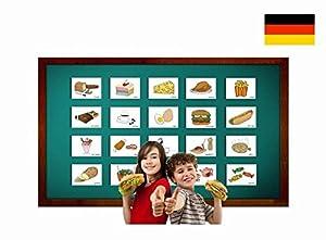 Amazon.com: Food and Drinks Flashcards in German - Lebensmittel und