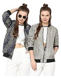 Yepme Women's Multi-Coloured Polyester Jackets - YPMJACKT5152_XS