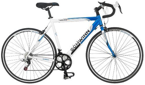 Best Prices! Schwinn Men's Volare 1300 700C Drop Bar Road Bicycle, Blue/White, 18-Inch