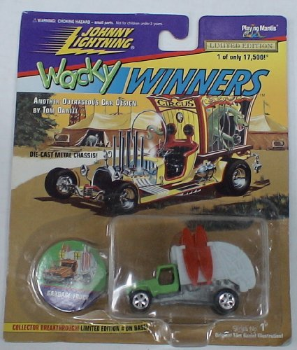 Johnny Lightning Wacky Winners DIE Cast CAR Garbage Truck - 1
