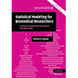 Statistical Modeling for Biomedical Researchers: A Simple Introduction to the Analysis of Complex Data (Cambridge Medicine) ~ William D. Dupont